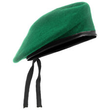 Military Style Tactical Classic Army Beret Mens Hat Uniform Cap Wool Green Olive