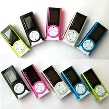 Hot Shiny Mini USB Clip LCD Screen MP3 Music Media Player Support 16GB Micro SD