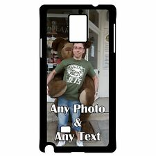 PERSONALISED ANY PHOTO ANY IMAGE SAMSUNG GALAXY NOTE 3/4 PLASTIC CASE/COVER