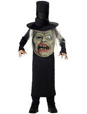 Child Zombie Mad Hatter Fancy Dress Costume