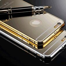Luxury Aluminum Ultra-thin Mirror Metal Case Cover Skin For iPhone 6/6 Plus/5/5s