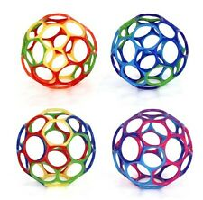 "(1) Multi-Colored 4"" Oball BPA Free Easy Grasp Hold Ball Occupational Therapy"