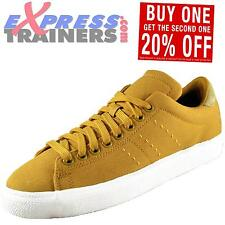 Adidas Originals Mens Match Play Classic Retro Trainers Yellow *AUTHENTIC*