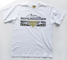 "Michael Schumacher T-Shirt Anniversary/Jubilee 2012 ""25th August 1991"" MS-12-134"