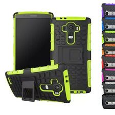 Shockproof Hybrid Hard Rugged Back Stand Holder Case Cover Skin for Phone LG G4