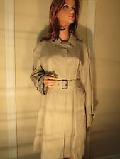 NWT & NWOT WOMEN AUTHENTIC BURBERRY BRIT THORNWELL KHAKI TRENCH COAT US 12 OR 14