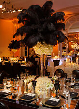 high quality Black Ostrich feathers Costume/Millinery/Wedding