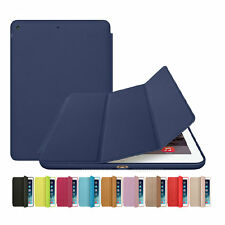 Slim Smart Leather Case Stand Magnetic Cover For Apple iPad mini 1 2 3 Sleep &SP
