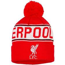 Kids Liverpool F.C. Beanie Bobble Hat Official Team Football Gift Accessory