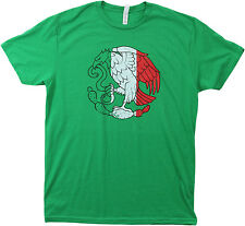 Mexico Pride | Vintage Style, Retro-Feel Mexican Flag & Arms Unisex T-shirt