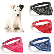 Adjust Pet Dog Cat Puppies Collars Scarf Neckerchief Necklace Triangle With Belt