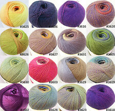 Yarn Place Graceful Lace Yarn 100% Wool 100 Grams 1804 Yards Variegated Colors