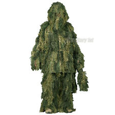 Helikon Ghillie Yowie Camo Suit 4 PCS Set Airsoft Hunting USMC Digital Woodland