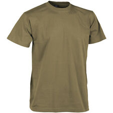 Helikon US Military Combat Top Army Tactical Tee Mens T-Shirt Work Cotton Coyote