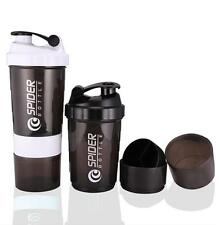 BPA free Protein Power Shake Spider Protein Shaker 3 In 1 Sports Yoga Bottle
