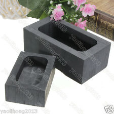 High Purity Graphite Casting Melting Ingot Mold 3.5OZ -80OZ for Gold & Silver