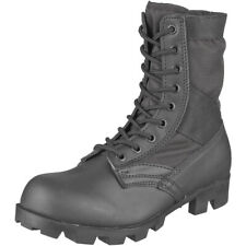 US Army Combat Assault Vietnam Jungle Boots Mens Security Cadet Black 5-13