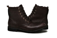 Timberland Mens ZIP Boots EK CITY Premium 6 inch 5928R Dark brown LEATHER