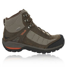 Teva Kimtah Mid eVent Mesh Mens Black Brown Walking Hiking Trail Boots Shoes