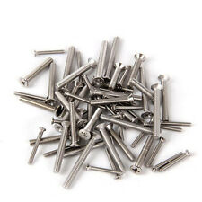 80 PCS M8 Philips Flat Head Screw Alloy Steel Cross Bolts Screws Bolt