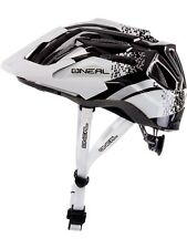 Oneal NEW Q Cycle White Black Downhill Mountain Bike MTB BMX Bicycle Helmet