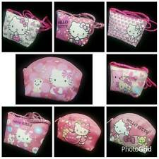 Hello Kitty Coin Bag Sanrio Purse Money Girl Cell Phone Shoulder Cross Body Bag