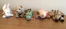 TY The Beanie Baby Collection - Choose One - Goatee, Swampy, Almond, Knuckles,