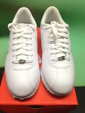Authentic Nike Cortez Basic Leather '06 White/White-Light Zen Grey
