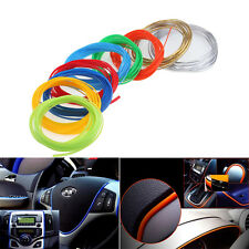 5mx7mm Flexible Car Moulding Line Interior Exterior Decorative Trim Strip