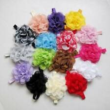 Baby Toddler Infant Lace Flower Headband Hair Bow Band Headwear Accessories