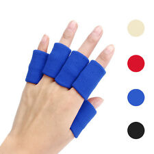 10pcs Paddy Stretch Basketball Sports Finger Guard Support Sleeves Protector HOT