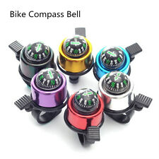 High Quality Bike Road Bicycle Cycling Handlebar Bell Ring Horn With The Compass