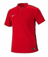 NIKE Dri Fit Soccer Jersey Challenger S/S AUTHENTIC Football Sports Red Shirt