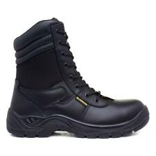 Earth Works Safety - EarthWorks Mens Black Lace Up Ankle Safety Boot