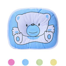 Newborn Baby Infant Support Head Soft Flat Sleeping Cushion Pillow Soft Cotton