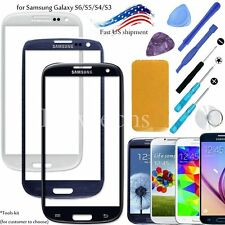 Replacement Front Screen Glass Lens for Samsung Galaxy S6 S5 S4 S3 / Tools Kit