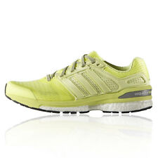 Adidas Supernova Sequence Boost 8 Womens Yellow Running Sports Shoes Trainers