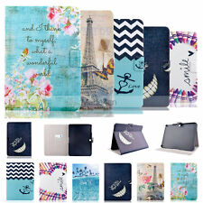Vogue Design Card Wallet Body Leather Stand Case Cover For Samsung Galaxy Tab