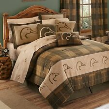 Ducks Unlimited®  Complete 11 pc Mega Bed in Bag Set - HOT NEW PLAID PATTERN