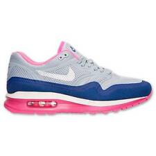 WMNS NIKE AIR MAX LUNAR1 LUNAR 1 654937 001 LIGHT GREY/PLATINUM-BLUE-HYPER PINK
