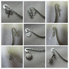 Antique silver Bookmark, Free Gift Bag and Tibetan Charm - Music Peace Mother...