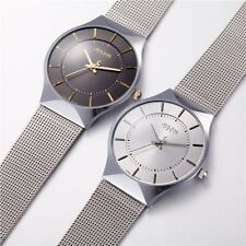 Fashion Men's Stainless Steel Band Military Sport Analog Quartz Wrist Watch