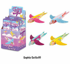 Fairy Flying Glider Planes Loot Party Bag Christmas Stocking Filler Toy Game Set