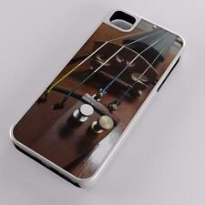 Violin Wooden Instrument Musical Bow Hybrid Case Fits Apple iPhones Any Carrier