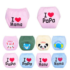 Baby Boy Girl Infant Kid Cute Training Pee Potty Diaper Pants Cloth Diaper Nappy