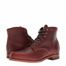 New Men's WOLVERINE 1000 Mile W05299 Rust Original Leather Boots MADE IN USA