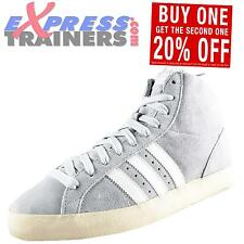 Adidas Originals Mens Basket Profi Hi Top Retro Trainers Grey AUTHENTIC
