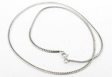 Silver Necklace Snake Necklace in 45 cm 50 cm or 55 cm long 925 SILVER