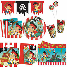 JAKE & the Neverland Pirates Boys Birthday Party Supplies Tableware Decorations