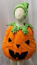 Boutique Jack o Lantern Pumpkin Complete Toddler Baby Halloween Costume NEW